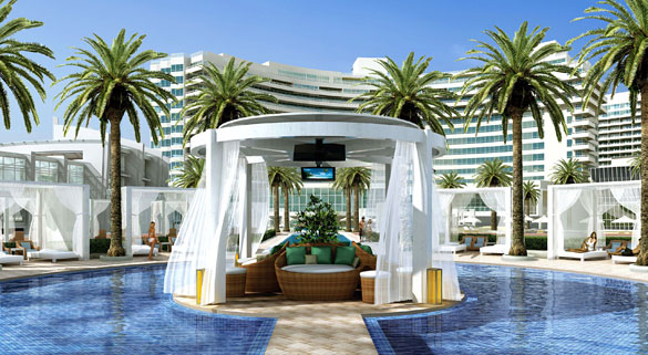 Fontainebleau Hotel Miami Pool